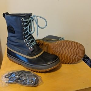 Sorel Wool-Lined Waterproof Winter Boots